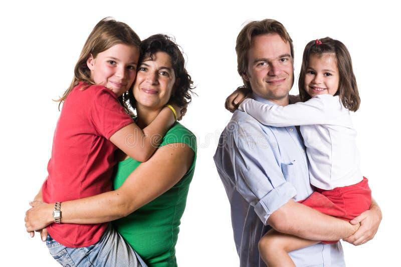 Die Familie lizenzfreies stockfoto