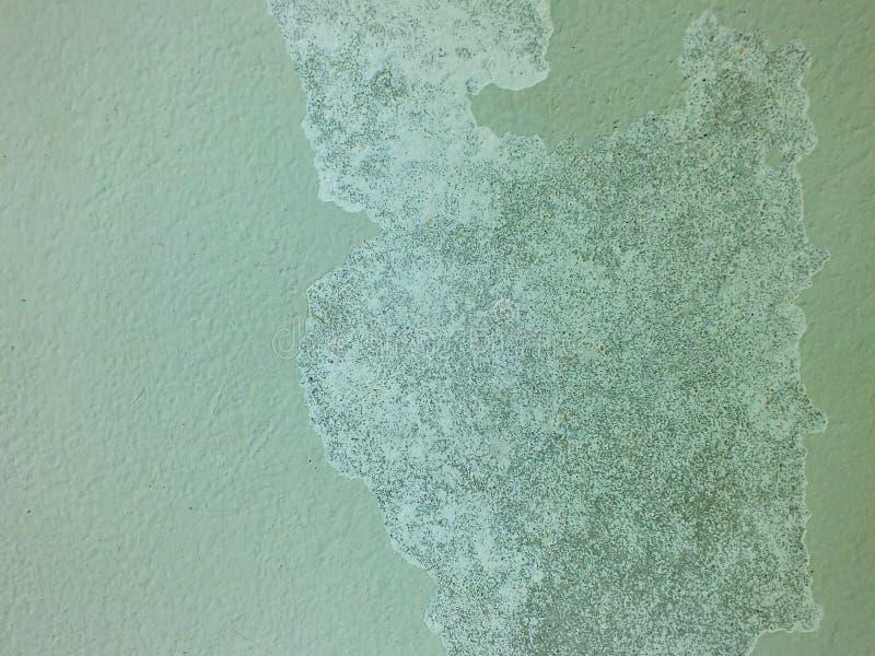 Die Farbe des Hauses zieht weg ab stockfoto