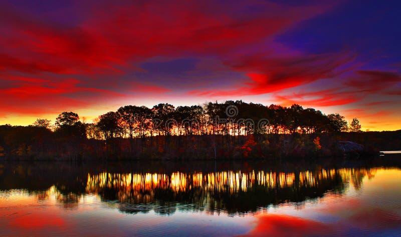 Die Farben des Morgens lizenzfreie stockfotos