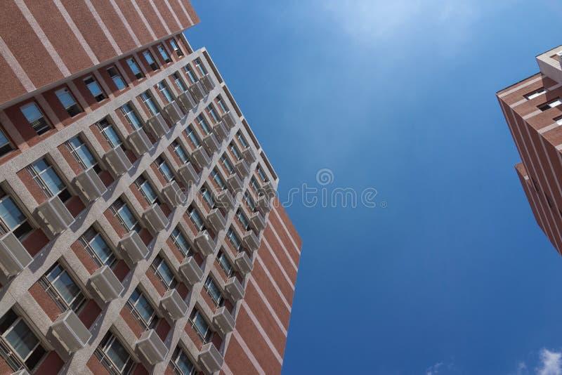 Die Fassade des Gebäudes lizenzfreies stockbild