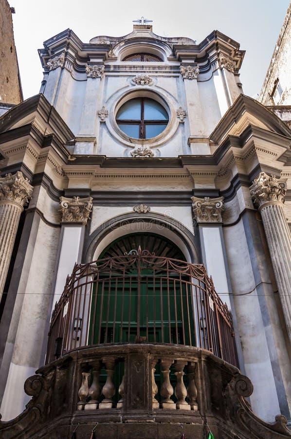 Die Fassade von San Nicola ein Nilo lizenzfreie stockfotografie