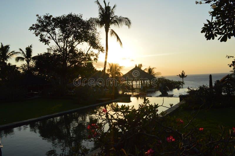 Die Felsen-Stange Bali stockfoto