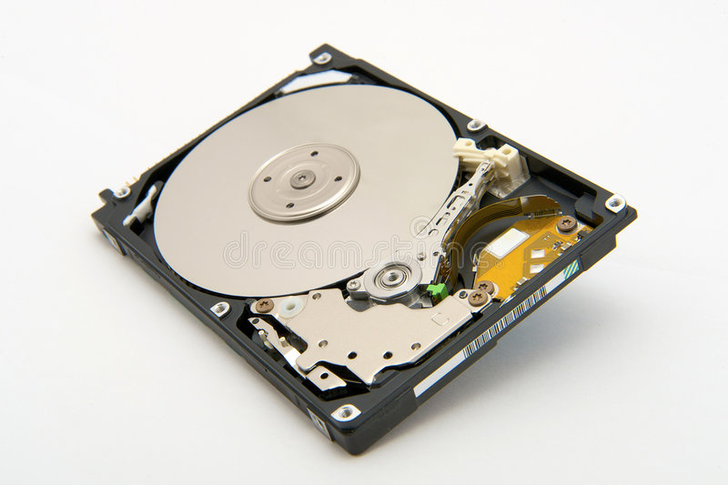 Die Festplatte lizenzfreies stockfoto