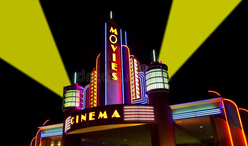 Die Filme, Film, Kino, Film-Theater lizenzfreie stockfotografie
