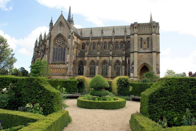 Die Fitzalan-Kapelle, Arundel-Schlosskirche in Arundel, West-Sussex, England, Europa stockbilder