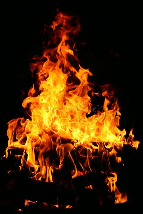 Die Flamme lizenzfreies stockbild