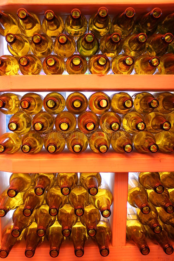 Die Flaschen lizenzfreie stockfotos