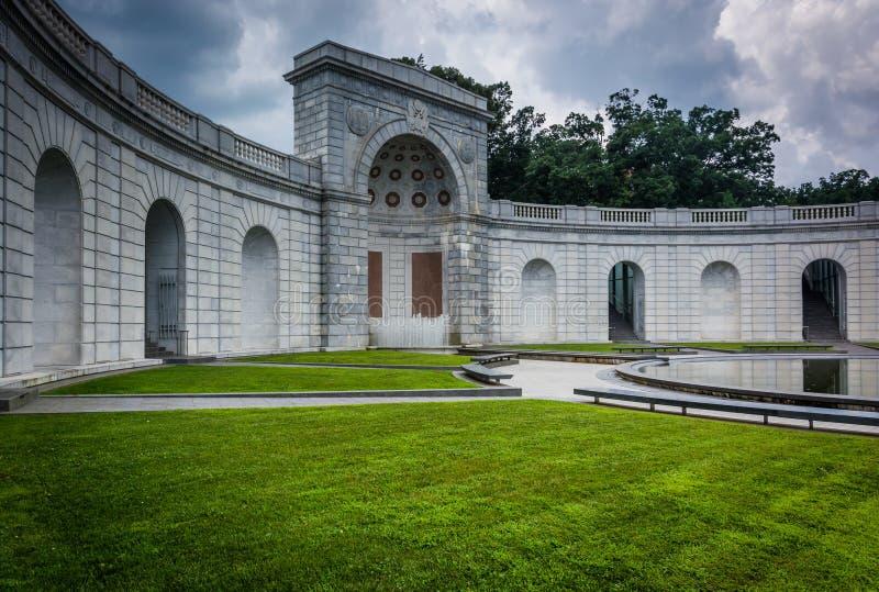 Die Frauen im Militärdienst für Amerika-Denkmal, in Arlington lizenzfreie stockfotografie