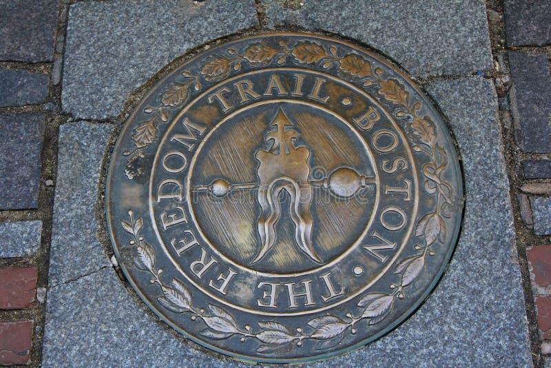 Die Freiheits-Spur Boston lizenzfreies stockfoto