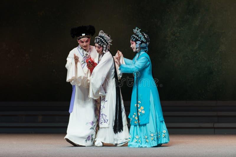 """Die Freude an der Tat der Geburt-D achte, die einem neugeborenen kinder--Kunqu Opera""""Madame weißes Snakeâ€- erhält lizenzfreie stockbilder"""