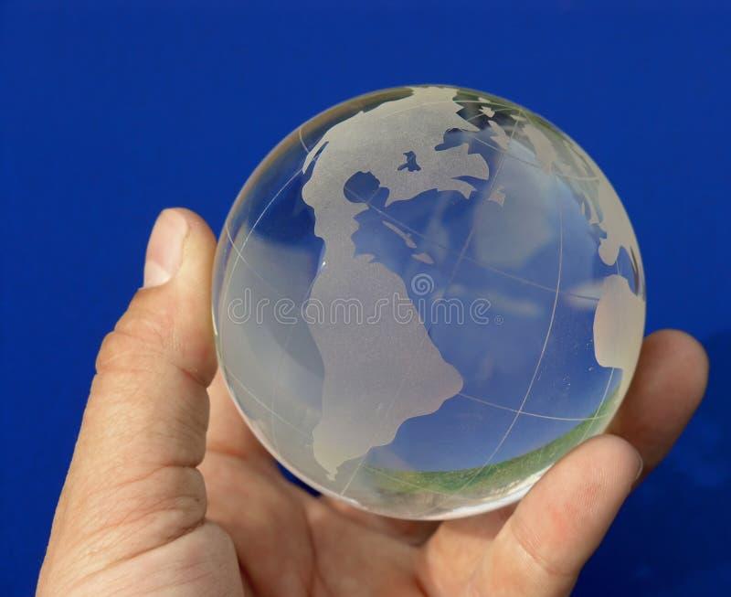Die ganze Welt auf Blau 2 lizenzfreie stockfotografie