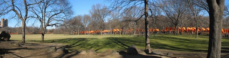 Die Gatter Central Park stockfoto