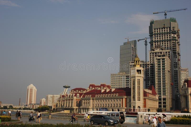 Die Gebäude lizenzfreie stockfotos