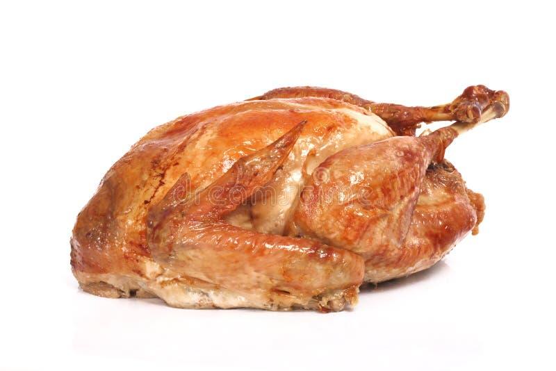Die gebratene Türkei lizenzfreies stockfoto