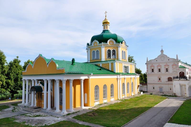 Die Geburt Christikathedrale, Ryazan Kremlin, Russland lizenzfreie stockbilder
