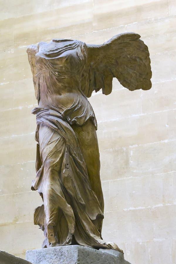 Die geflügelte Göttin Nike lizenzfreie stockfotografie