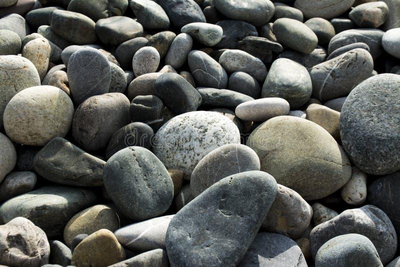 Die Geschenksteine von einem Strand lizenzfreies stockbild