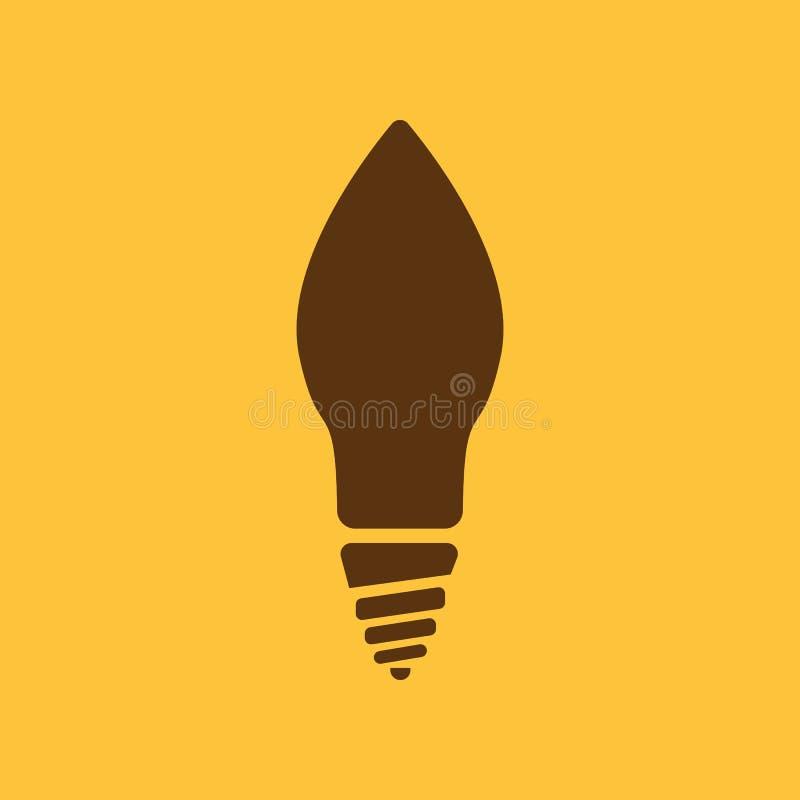 Die Glühlampeikone Lampe Und Birne, Glühlampe, Glühlampe, Glimmlampe ...