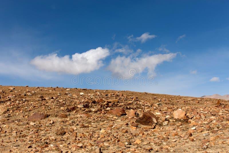 Die gobi-Wüste lizenzfreie stockbilder
