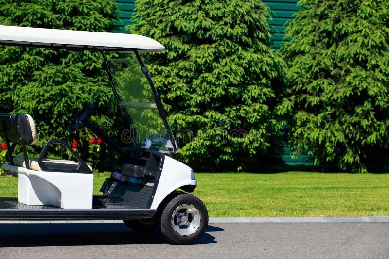Die Golfmaschine lizenzfreie stockbilder