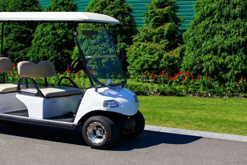 Die Golfmaschine lizenzfreie stockfotografie