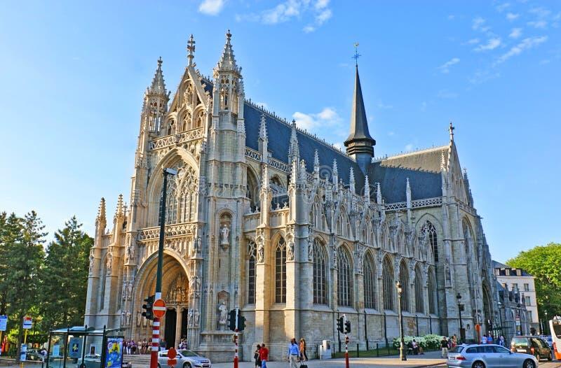 Die gotische Kirche lizenzfreie stockfotografie