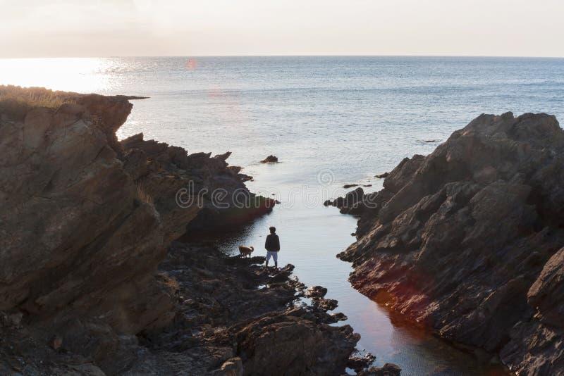 Die Größe des Ozeans lizenzfreie stockfotos