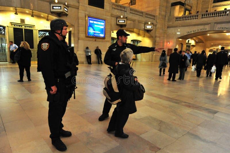Die großartige zentrale Station Manhattan N.Y lizenzfreies stockbild