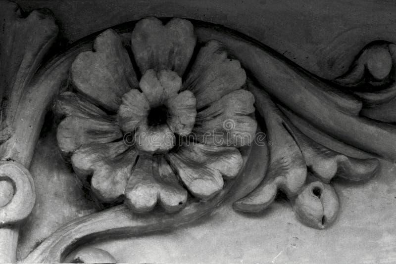 Die große Blume ist auf der Ecke vektor abbildung