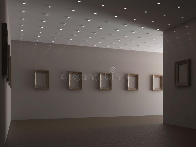 Die große Galerie lizenzfreie abbildung