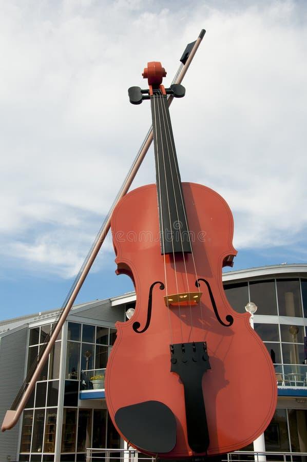 Die große Geige - Sydney - Nova Scotia stockfotografie