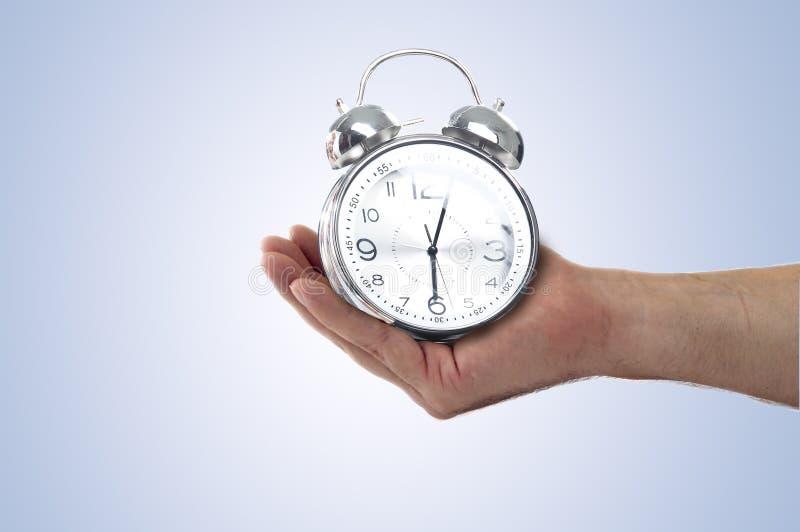 Die große Glocke stellt aufwachen sicher lizenzfreie stockfotos