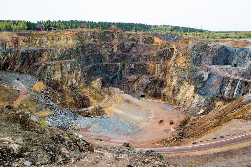 Die große Grube lizenzfreies stockbild