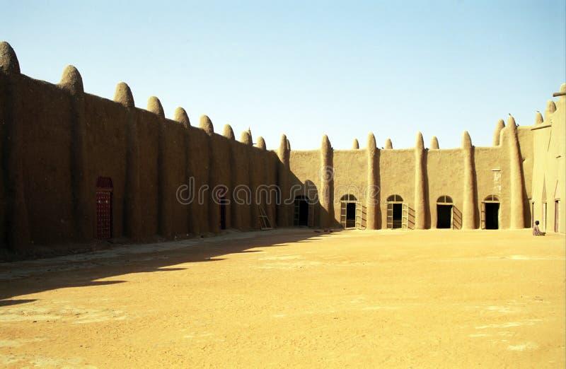 Die große Moschee, Djenne, Mali stockbilder