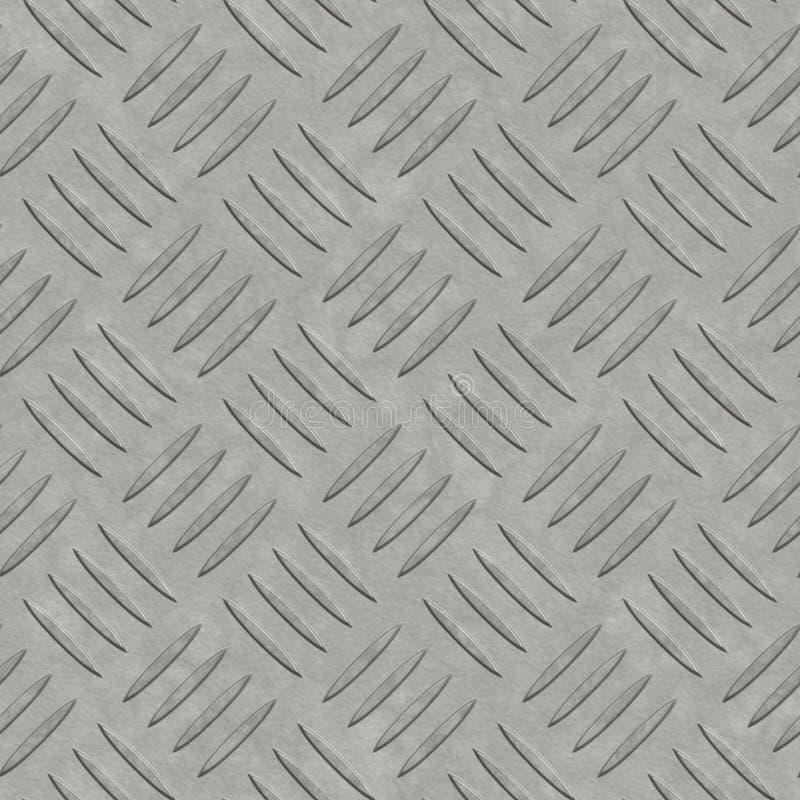 Die große säubern Sie Diamantplatte stock abbildung