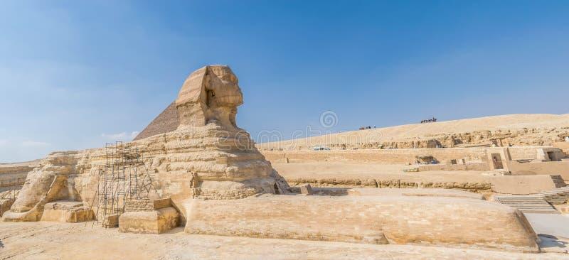 Die große Sphinx von Giza stockbild