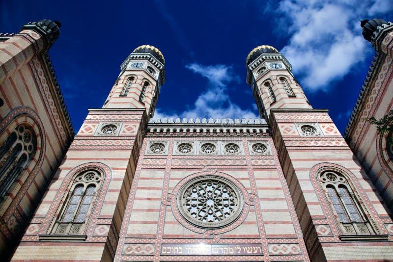 Die große Synagoge. Budapest, Ungarn lizenzfreie stockfotos