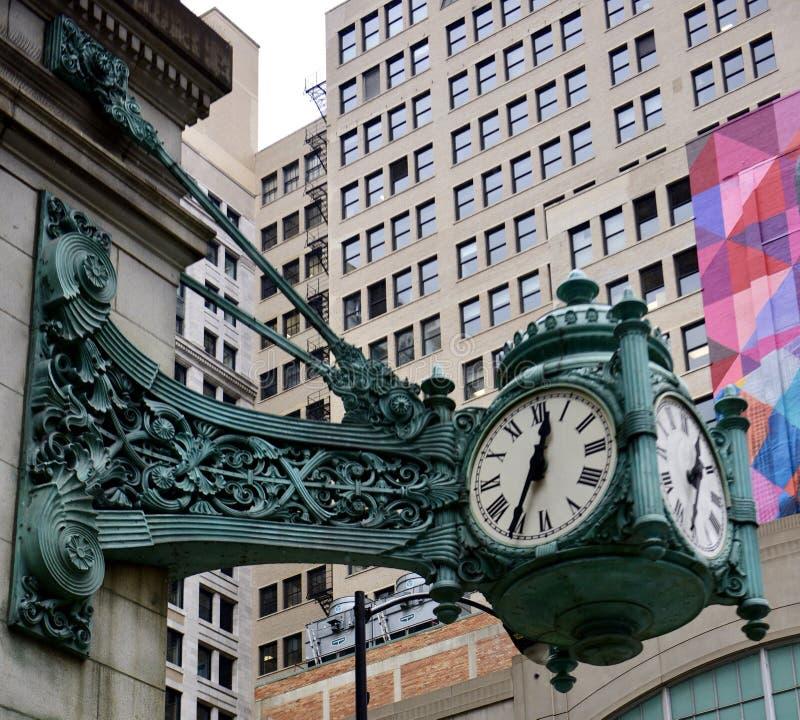 Die große Uhr lizenzfreies stockfoto