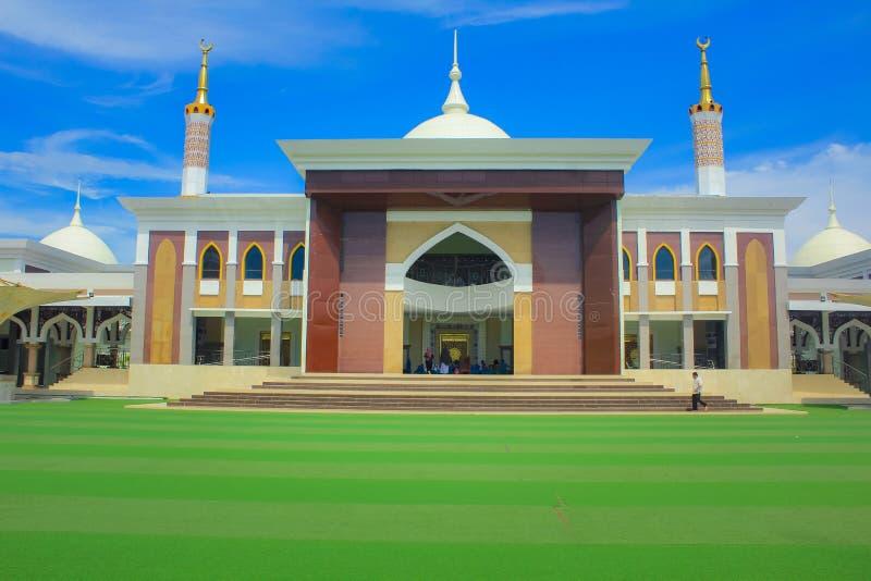 Die große Moschee von Indramayu West-Java Indonesia lizenzfreie stockfotos