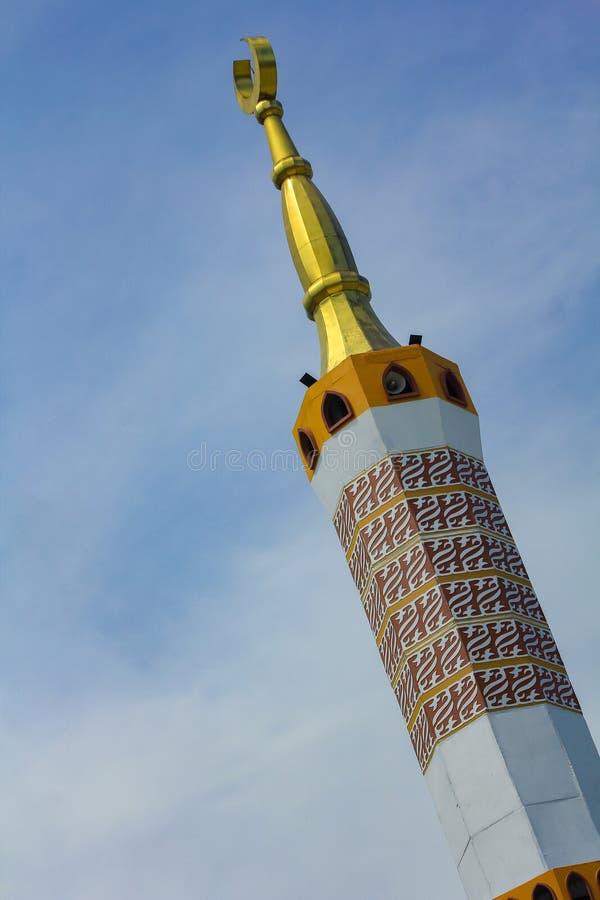 Die große Moschee von Indramayu West-Java Indonesia lizenzfreies stockbild