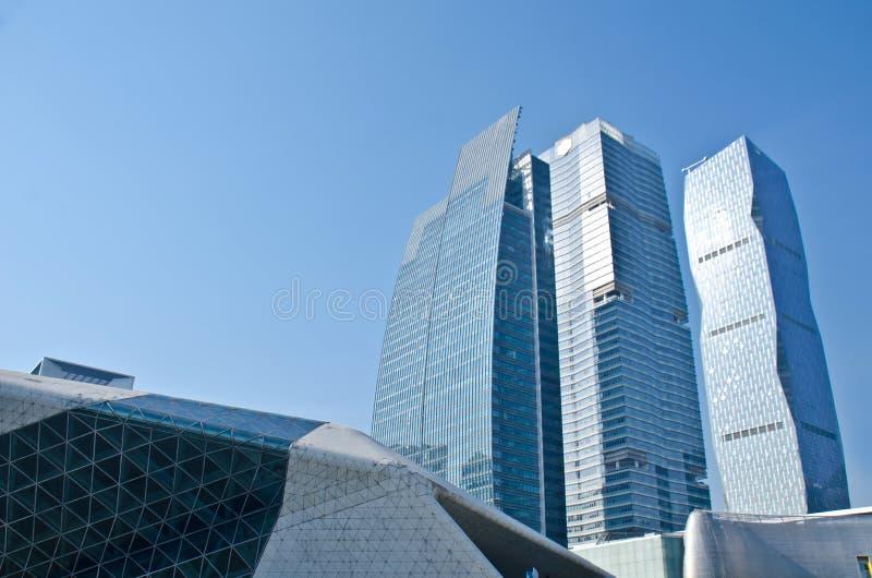 Die guangzhou-Finanzwesen-Mitte (GZIFC) lizenzfreies stockfoto