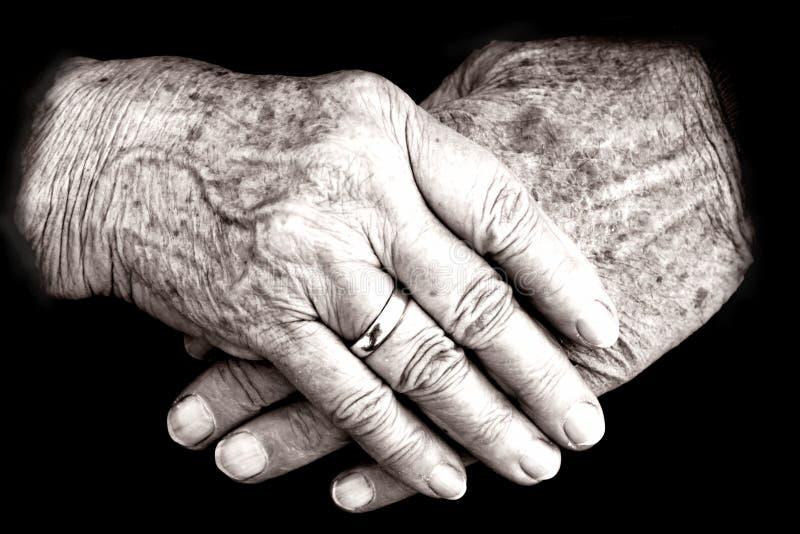 Die Hände stockfoto