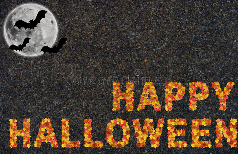 Die Halloween-Nacht lizenzfreie stockfotos