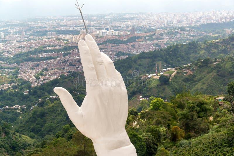 Die Hand von Jesus lizenzfreie stockfotos