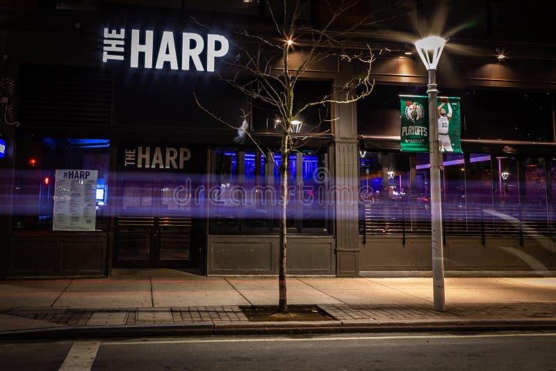Die Harfe Boston stockfotos