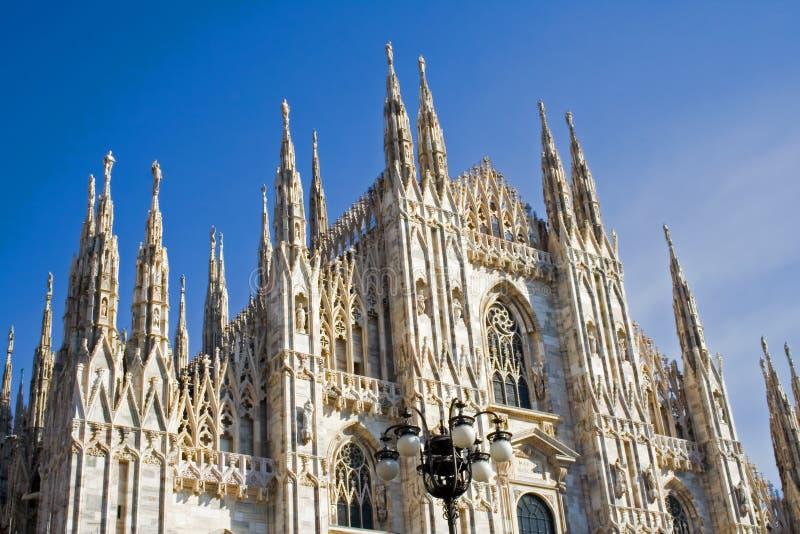Die Haube von Mailand in Italien stockfotografie
