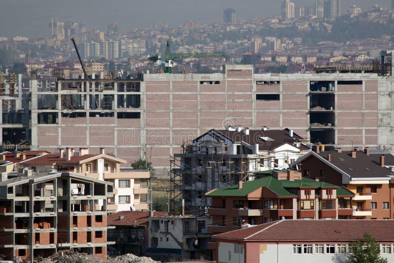 Die Hauptstadt von der Türkei der größte Bau gemacht in Ankara stockfoto