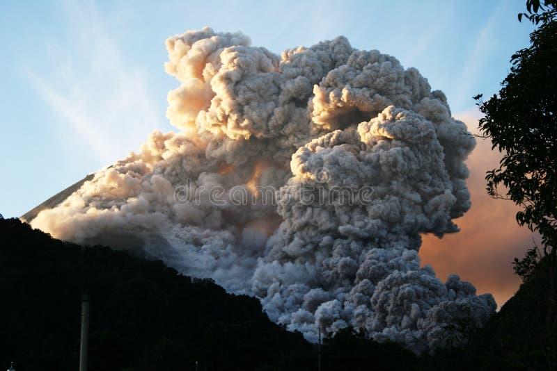 Die heiße Wolke stockfotografie
