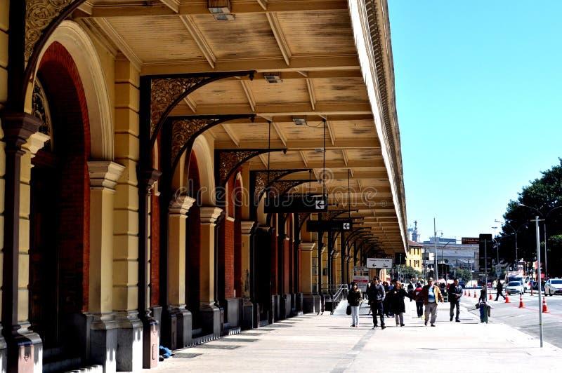 Die helle Station lizenzfreies stockfoto