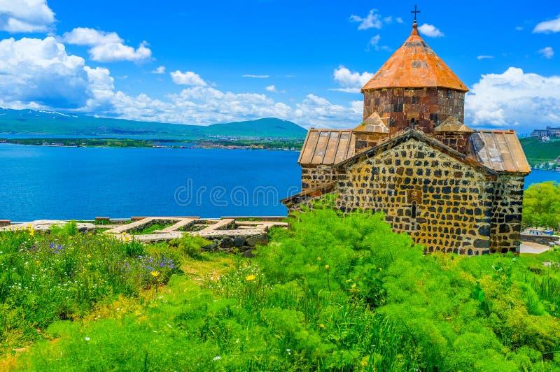 Die hellen Farben von Sevan stockfotografie